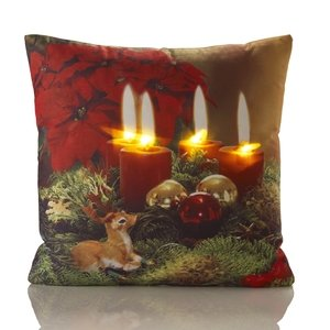 Christmas Edition LED Unfilled Cushion Covers