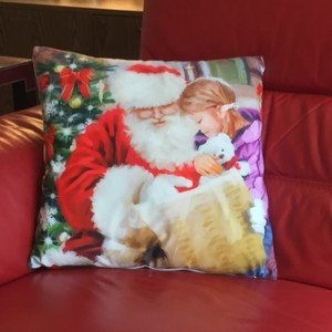 Christmas Edition Velvet Unfilled Cushion Covers
