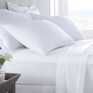 100% EGYPTIAN COTTON SATEEN Luxury 400 Thread Count Housewife Pillowcase