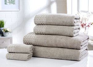 RETREAT 100% Cotton 6-Piece Towel Bale Set