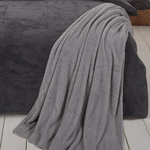 TEDDY FLEECE Supersoft Fluffy Warm Throw/Blanket