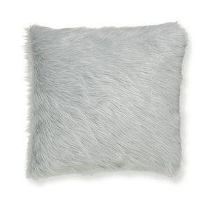 Catherine Lansfield Metallic Fur Shimmer Cushion Cover