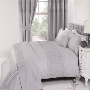EVERDEAN Embroidered Vintage Duvet Cover Set Bedding Range