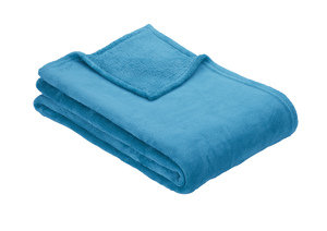 Ibena OLBIA Plain Fleece Throw/Blanket