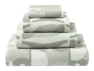 Orla Kiely Designer OWL 100% Cotton 580GSM Towel Set