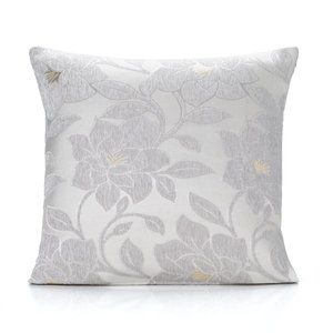 PEONY Floral Chenille Cushion Cover