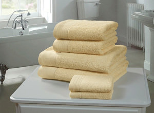 CHATSWORTH 100% Cotton 600GSM Towel Set