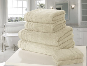 SO SOFT Zero Twist 100% Cotton 500GSM Towel Set