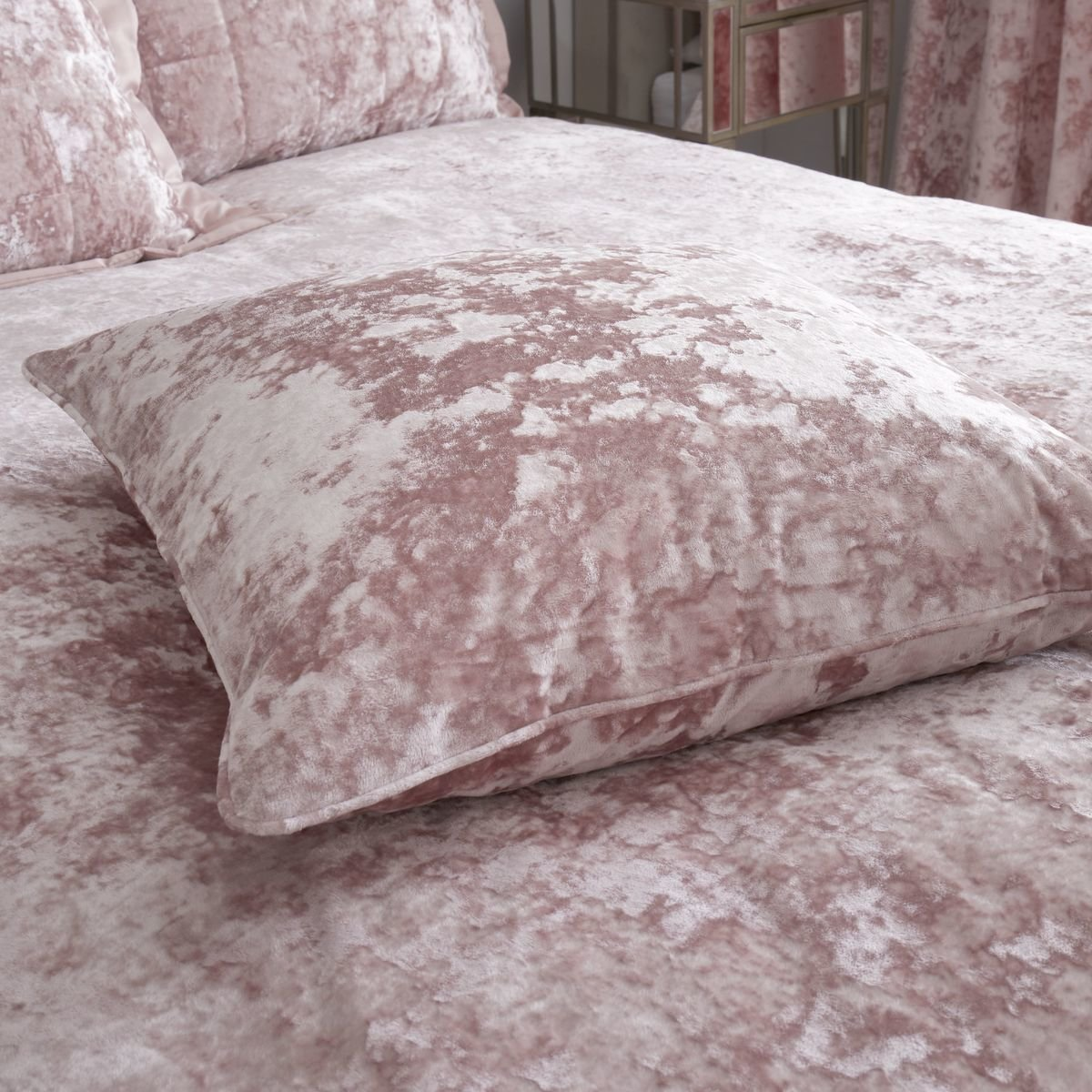 Buy Catherine Lansfield Crushed Velvet Duvet Cover Set Bedding Curtains Range Online Norwood Textiles